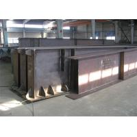 Quality Hot Rolled / Welded Galvanized Steel Beams H Section Steel Structure Girder Column for sale