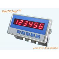 China Stainless Steel Weighing Indicator Controller , Digital Load Controller For Silo Scale on sale