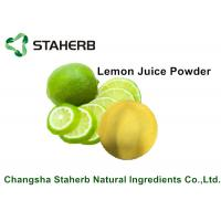 Quality Lemon Juice Powder / Natural Food Additives Anti- Aging And Anti - Hyperpigmenta for sale