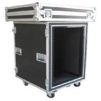 Print Logo Rack Case Aluminum Storage Cases With Anti - shock Foam Inside Manufactures