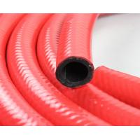 China ID 1 Inch Red Fuel Dispensing Hose 30 Bar , Braided Fuel Hose For Fuel Tanker on sale
