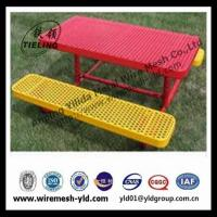new design and comforation expanded steel metal of decoration chairs of public (manufacture) Manufactures