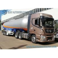 Buy cheap 3 Axles 12 Wheels 56KL LPG Tank Semi Trailer LPG Tanker Transport Trailer from wholesalers