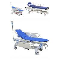 Adjustable Patient Transfer Trolley , Emergency Stretcher Trolley Or Hospital Use Manufactures