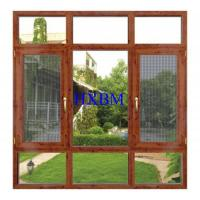German Style Timber Doors And Windows , 68mm Frame Wood Casement Windows Good heat insulation Manufactures