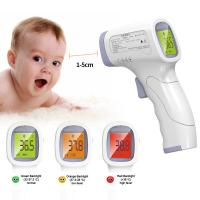 Medical Grade Non Contact Infrared Thermometer With Data Retention Function Manufactures