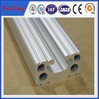 10mm t slot bosch extruded aluminum profile for equipment frame Manufactures