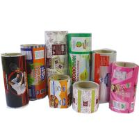 Plastic Printed Laminated Rolls / Film Food Grade For Food Bags Manufactures