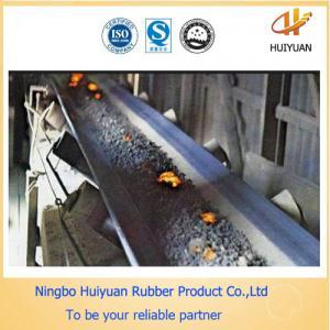High Temperature Resistant EP fabric Conveyor Belt (250degree) Manufactures