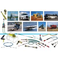 Mechanical Control Cable , Push Pull Control Cable For Construction Machinery Manufactures