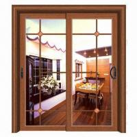 Interior Aluminum Door with Sliding/Hanging/Folding Style, Perfect Performance/Attractive/Decorative  Manufactures