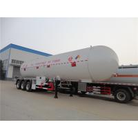 China New mobile filling tank for cooking propane gas bullet station 60m3lpg storage tank 60cbm lpg transport trailer 3 axles on sale