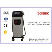 Profession Long Pulse ND Yag Laser Hair Removal Machine Portable Design Manufactures