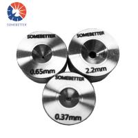 new product size 3.22mm stainless steel wire drawing die / diamond drawing die / PCD die Manufactures