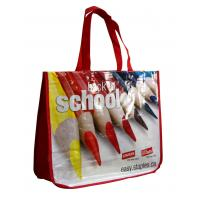 Customized PP Woven Shopping Bags 75gsm Shining Coat recycle  Shining Coated Manufactures