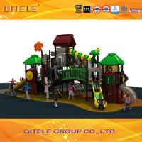 Cgildren play game playground oudoor customized commercial playground equipment Manufactures