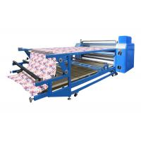 Automatic Roller Heat Press Machine / Heat Press Roller For Polyester Fabric Manufactures