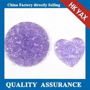 resin rhinestone transfer,flower rose rhinestone resin transfer,purple flower resin rhinestone Manufactures