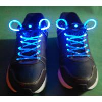 White-Pink LED Shoelaces Manufactures