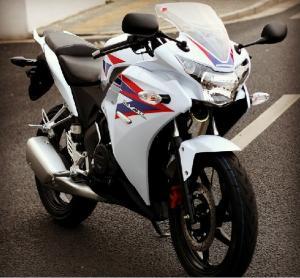 CBR150 Motorcycle Motorbile Motor 200cc Orange Drag Racing Motorcycles With Manufactures