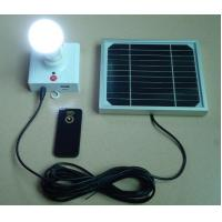 solar lighting with 3W LED bulbs high lumensfor home solar Manufactures