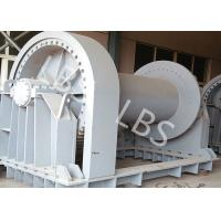 10 Ton Electric & Hydraulic Pulling Winch / Marine Winches for Shipyard or Port Manufactures