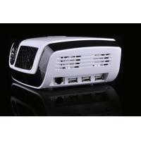 Multimedia 3D LED Beamer with TF Card Slot , HiFi Audio System Manufactures