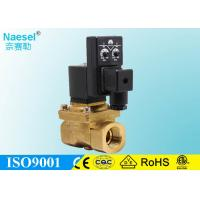China Flow Control 0.01 Bar 0.15 PSI Pilot Operated Solenoid Valve Miniature Size Energized on sale