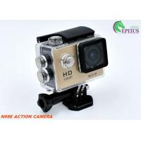 """Quality Portable 1080P Diving Small Waterproof Action Camera Wifi 30M 2"""" Screen 140 Lens for sale"""