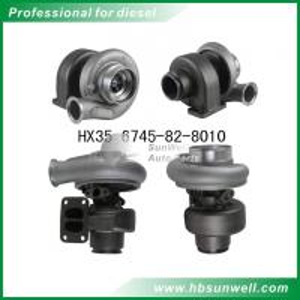 Komatsu HX35 6745-82-8010 Turbocharger Cummins QSB 4955159 Turbo for Holset branded supercharger Manufactures