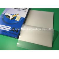 High Brightness 100 Micron Laminating Pouches A4 Glossy With PET EVA Material Manufactures