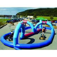 China Giant Cricket Inflatable Zorb Ball Track For Outdoor Kindergarten on sale