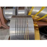 Perforating Aluminum Channel Letters For Super Words , Advertising Word Of Edge Manufactures