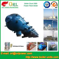 Quality Stainless Steel Boiler Mud Drum , Boiler Steam Drum SGS High Efficiency for sale