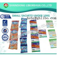 100 gram sachet packing detergent washing powder for the Middle East market——hebe@ghlibo.com Manufactures