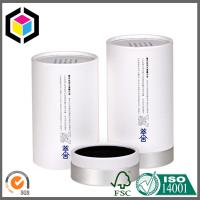 Elegant Design Color Printing Round Paper Tube; White Color Paper Tube with Cap Manufactures
