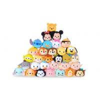 Hot Disney Tsum Tsums Collection Plush Toys For  Mobile Phone Screen Cleaner Keychain Bag Manufactures
