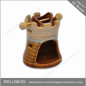 Beautiful Smelling Luxury Oil Burner , Ceramic Home Fragrance Oil Burners Manufactures