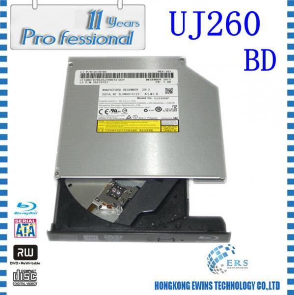 Quality UJ260 China High Quality Super Multi 12.7mm SATA Tray Load Laptop Internal Blu-ray Burner for sale