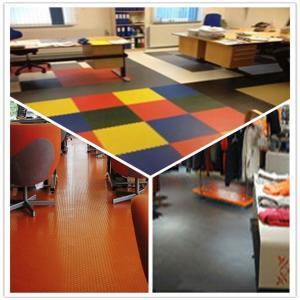 3W Anti Slip Indoor Office Interlocking Removable Plastic PVC Floorommg Tiles Manufactures