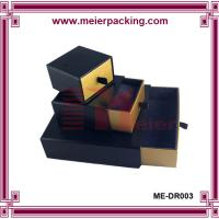 Custom design earring boxes paper drawer box paper packing ME-DR003 Manufactures