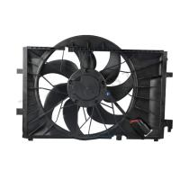Car Radiator Cooling Fan For Mercedes W203 2035001693 1 Year Warranty Manufactures