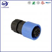 China Middle Series Field Installable Waterproof led connector  for industrial wire harness on sale