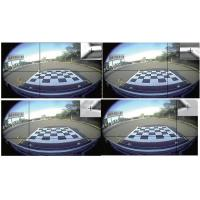 360 Degree around Bird view Bus Camera  Parking Systems, HD Cameras, Four -way DVR Manufactures