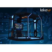 Buy cheap Indoor Symulator 9d VR Standing Platform With Frame And 200 VR Games from wholesalers