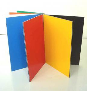 PVDF coated Aluminum Composite sheet for interior&exterior decoration Manufactures