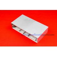 Silver Anodize Custom Extruded Aluminum Enclosures For Electrical Control Manufactures