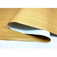 Wood Grain Peel And Stick Wallpaper Self Strong Adhesion For Renewing Furniture Manufactures