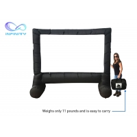 Outdoor Customized Size Large Inflatable Movie Screen For Party/Backyard Festivals Manufactures