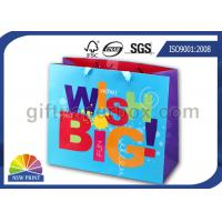 Custom Made Printing Wrapping Paper Gift Bag with UV Finishing for Party / Event Manufactures